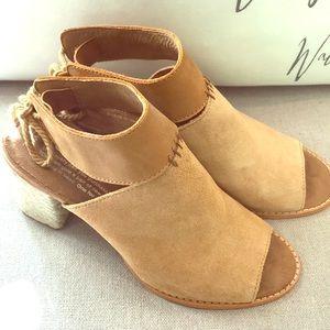 3b87af303485 Toms Shoes - TOMS Honey Suede Leather Seville Sandals Sz 6